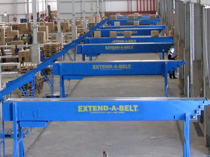 Extend-A-Belt Telescopic Conveyor