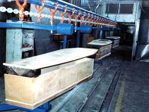 Overhead Monorail Conveying Stystem in Timber Industry